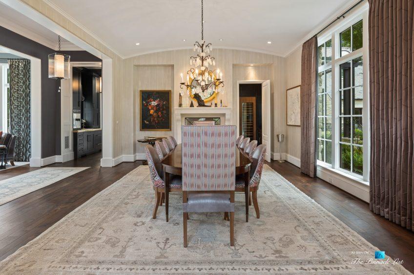 1150 W Garmon Rd, Atlanta, GA, USA - Dining Room - Luxury Real Estate - Buckhead Estate Home