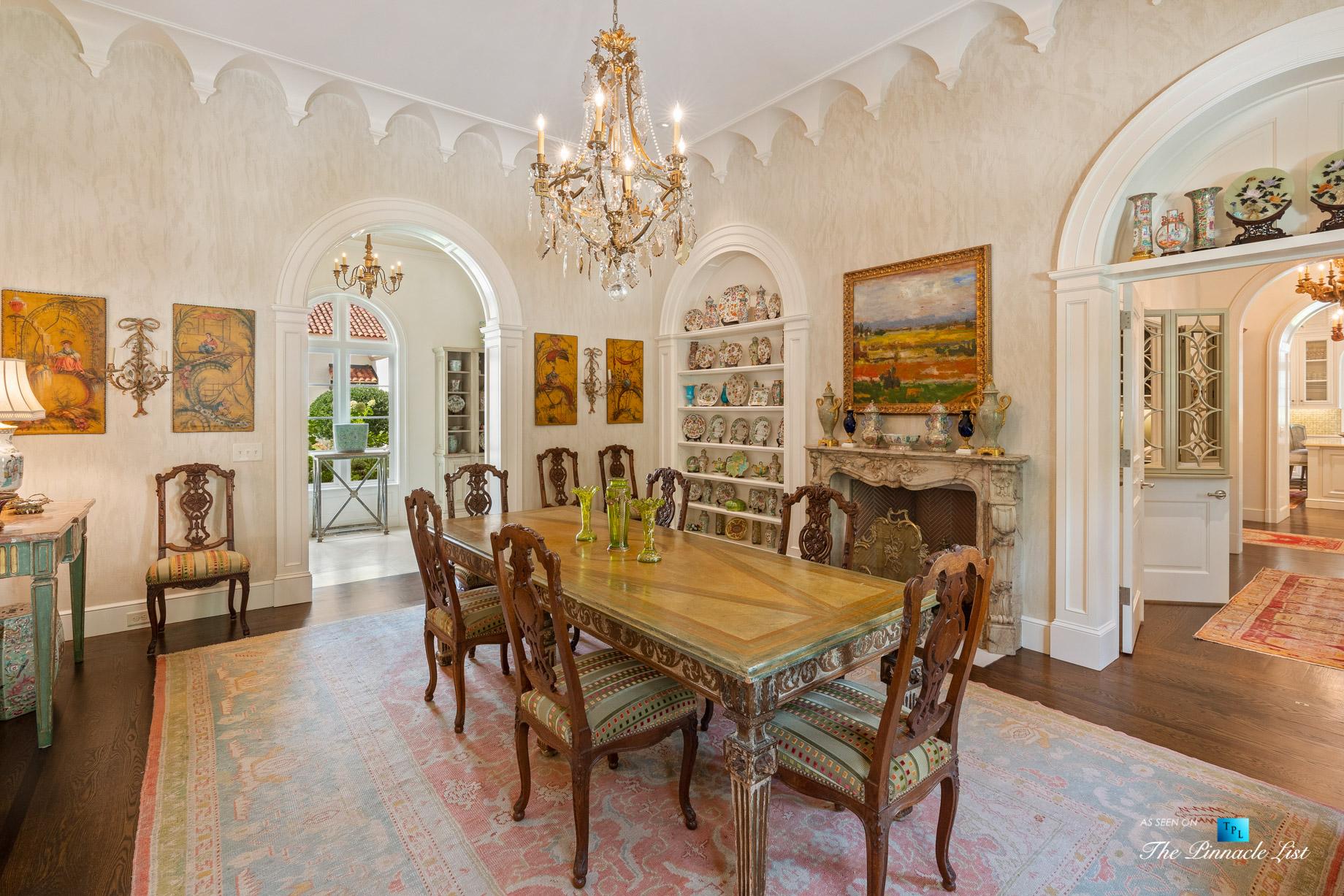 439 Blackland Rd NW, Atlanta, GA, USA – Formal Dining Room – Luxury Real Estate – Tuxedo Park Mediterranean Mansion Home