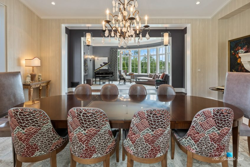 1150 W Garmon Rd, Atlanta, GA, USA - Dining Room and Living Room - Luxury Real Estate - Buckhead Estate Home