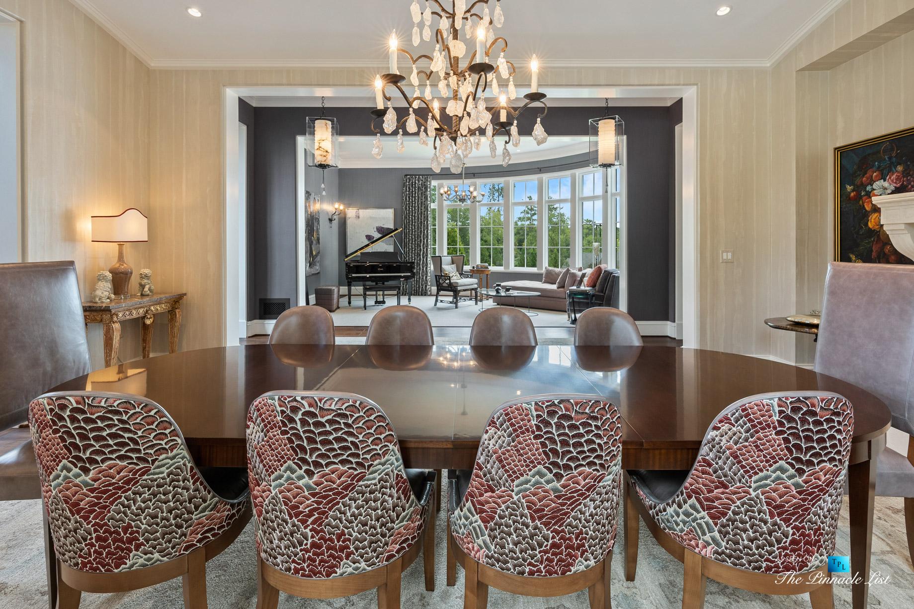 1150 W Garmon Rd, Atlanta, GA, USA – Dining Room and Living Room – Luxury Real Estate – Buckhead Estate Home