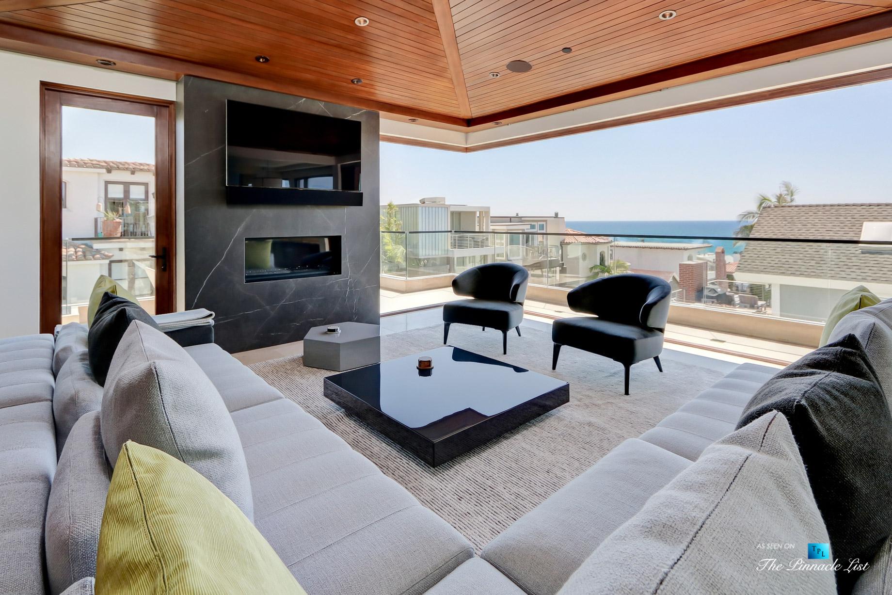 205 20th Street, Manhattan Beach, CA, USA – Living Room – Luxury Real Estate – Ocean View Home
