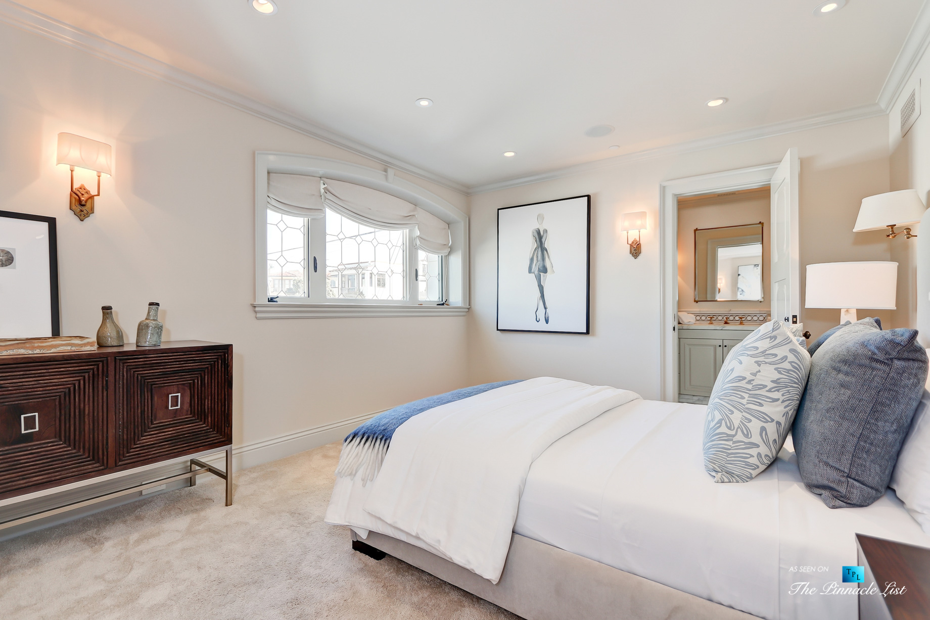 2806 The Strand, Hermosa Beach, CA, USA – Bedroom – Luxury Real Estate – Oceanfront Home