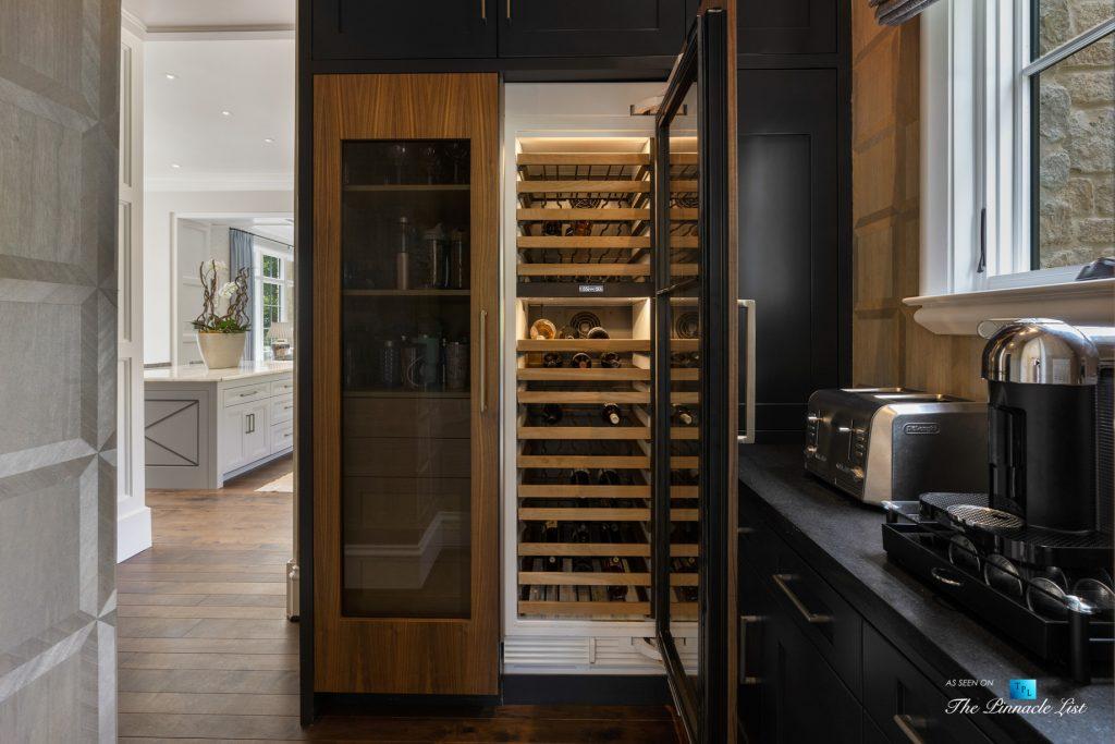 1150 W Garmon Rd, Atlanta, GA, USA - Kitchen Station Wine Fridge - Luxury Real Estate - Buckhead Estate Home