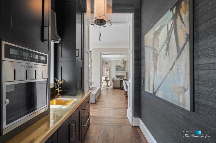 1150 W Garmon Rd, Atlanta, GA, USA - Butlers Pantry Wine Station - Luxury Real Estate - Buckhead Estate Home