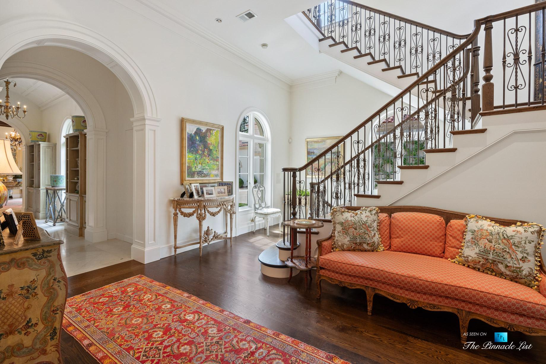 439 Blackland Rd NW, Atlanta, GA, USA – Main House Stairs – Luxury Real Estate – Tuxedo Park Mediterranean Mansion Home