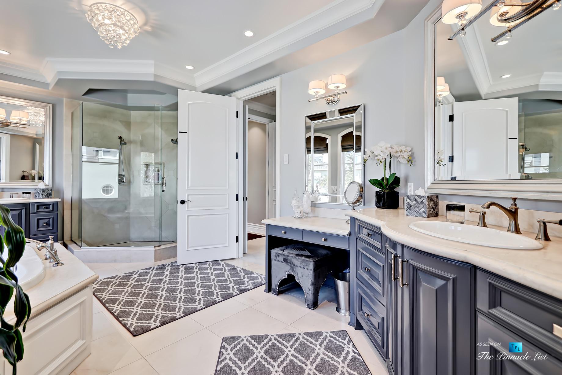 Luxury Real Estate – 1920 The Strand, Manhattan Beach, CA, USA – Master Bathroom