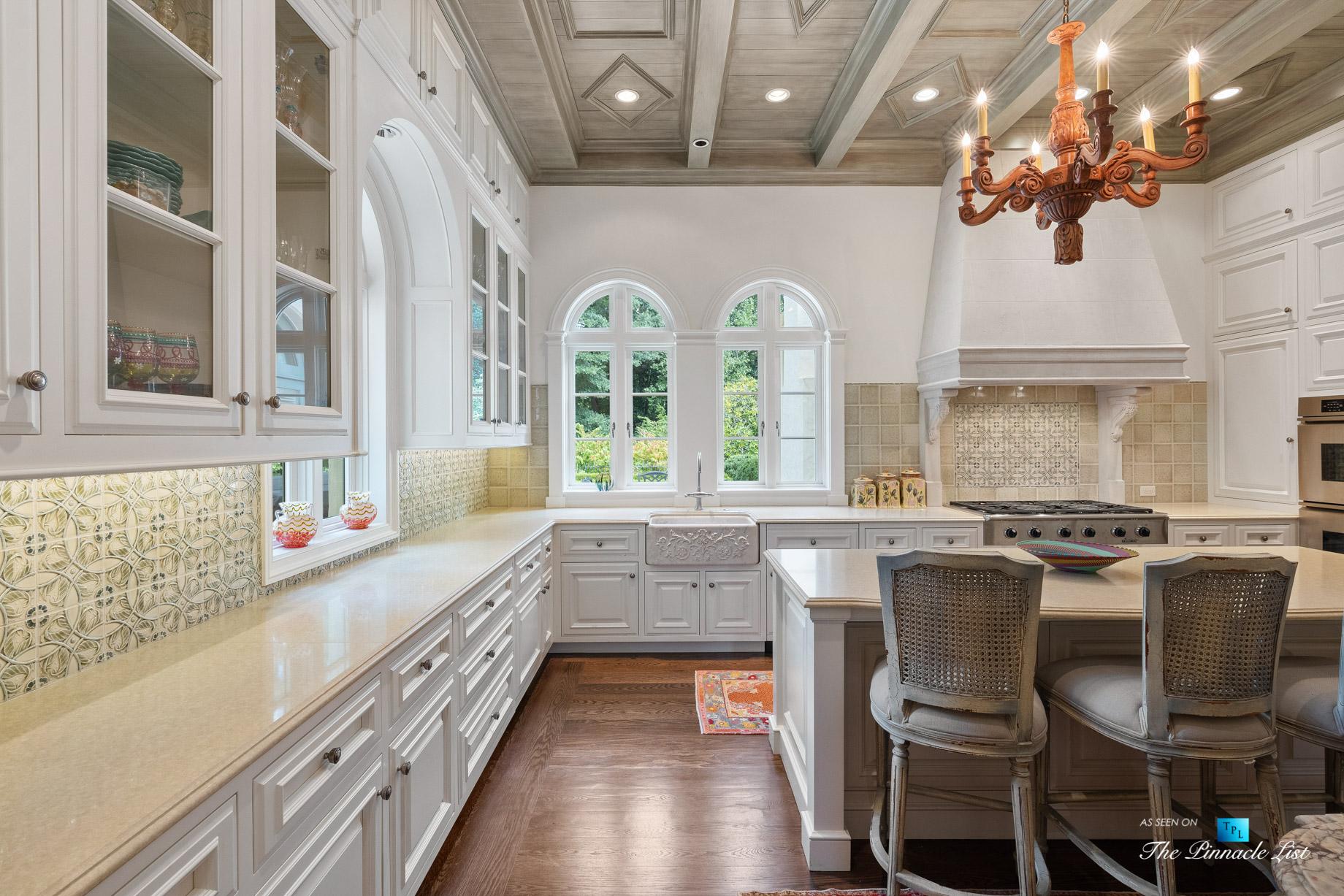 439 Blackland Rd NW, Atlanta, GA, USA - Kitchen - Luxury Real Estate - Tuxedo Park Mediterranean Mansion Home