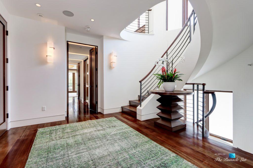 205 20th Street, Manhattan Beach, CA, USA - Foyer Stairs - Luxury Real Estate - Ocean View Home