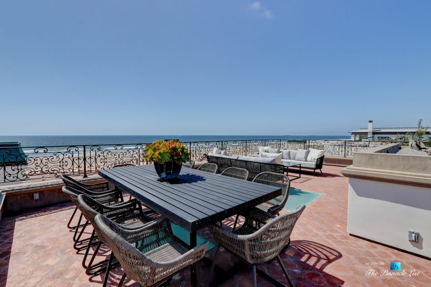 2806 The Strand, Hermosa Beach, CA, USA - Rooftop Deck Dining - Luxury Real Estate - Oceanfront Home