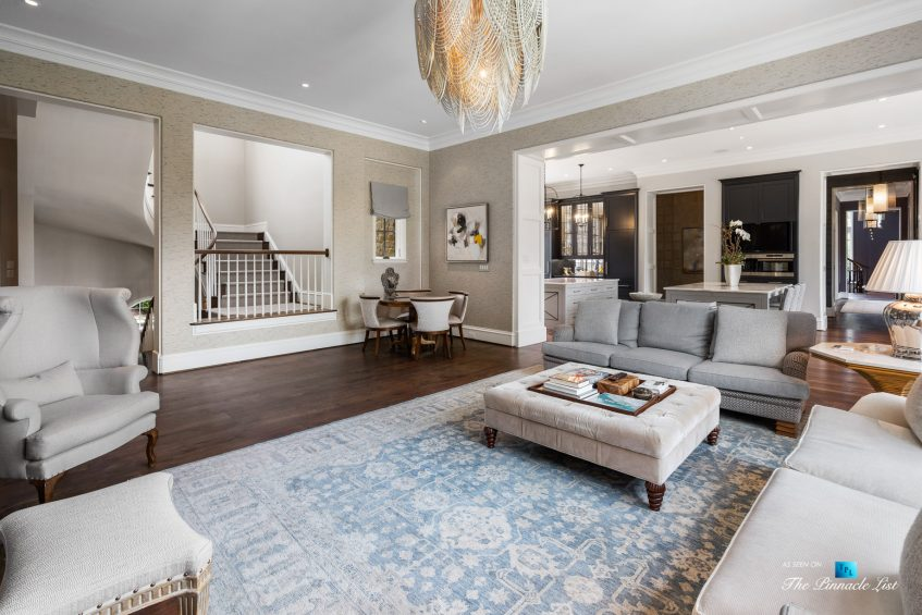 1150 W Garmon Rd, Atlanta, GA, USA - Luxurious Family Room - Luxury Real Estate - Buckhead Estate Home