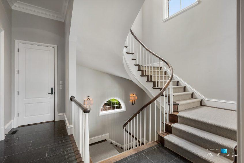 1150 W Garmon Rd, Atlanta, GA, USA - Secondary Stairs - Luxury Real Estate - Buckhead Estate Home