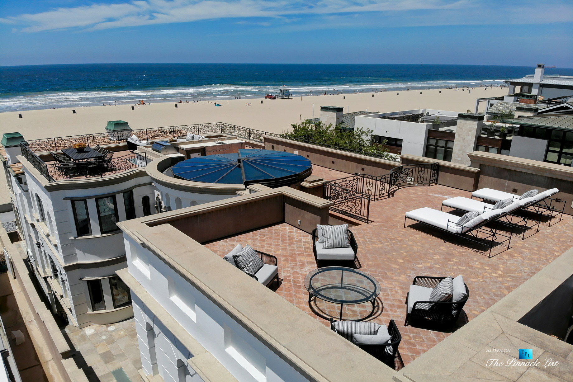 Luxury Real Estate - 2806 The Strand, Hermosa Beach, CA, USA - Rooftop Sundeck
