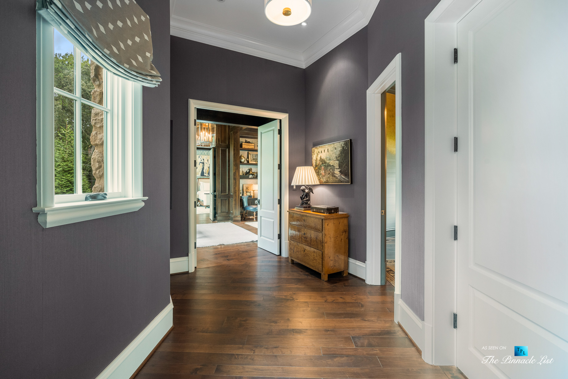 1150 W Garmon Rd, Atlanta, GA, USA - Hallway - Luxury Real Estate - Buckhead Estate Home