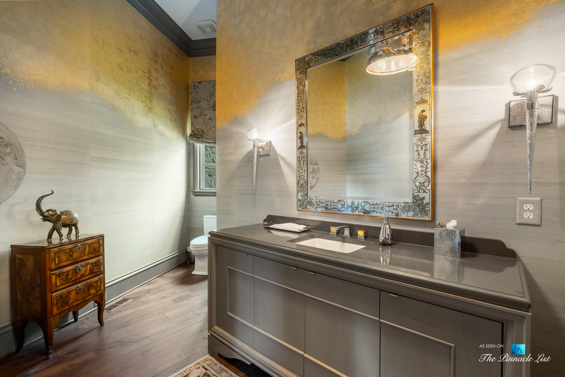 1150 W Garmon Rd, Atlanta, GA, USA – Luxurious Washroom – Luxury Real Estate – Buckhead Estate Home