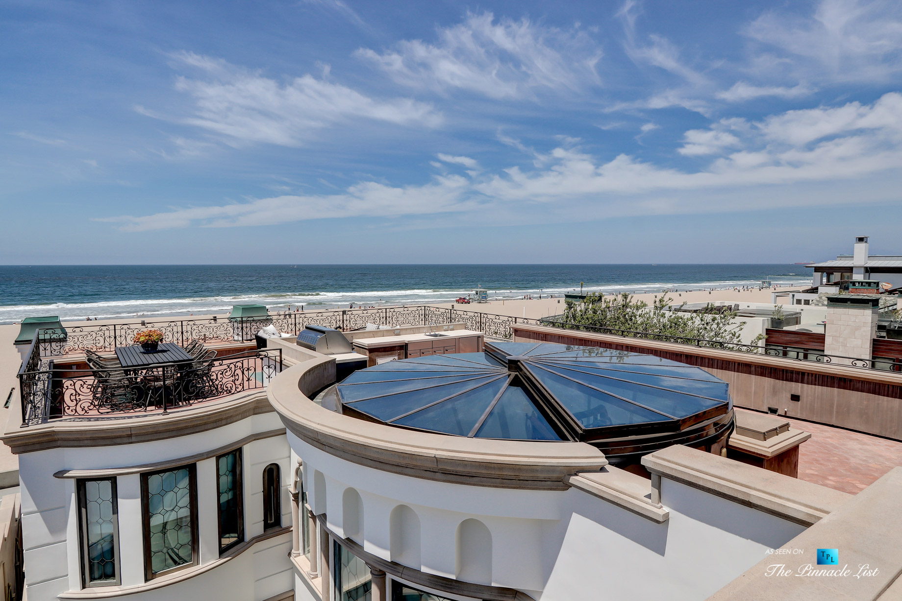 Luxury Real Estate - 2806 The Strand, Hermosa Beach, CA, USA - Rooftop Deck