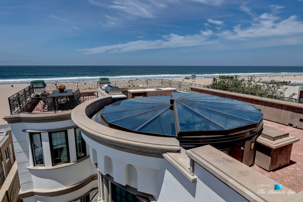 2806 The Strand, Hermosa Beach, CA, USA - Rooftop Deck - Luxury Real Estate - Oceanfront Home