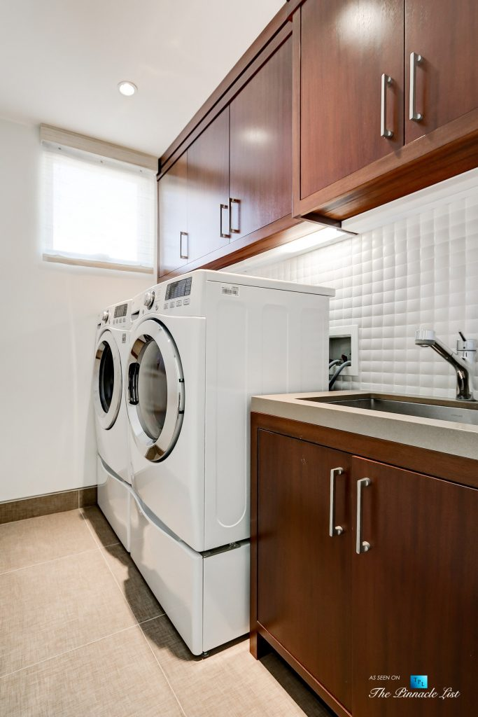 205 20th Street, Manhattan Beach, CA, USA - Laundry - Luxury Real Estate - Ocean View Home