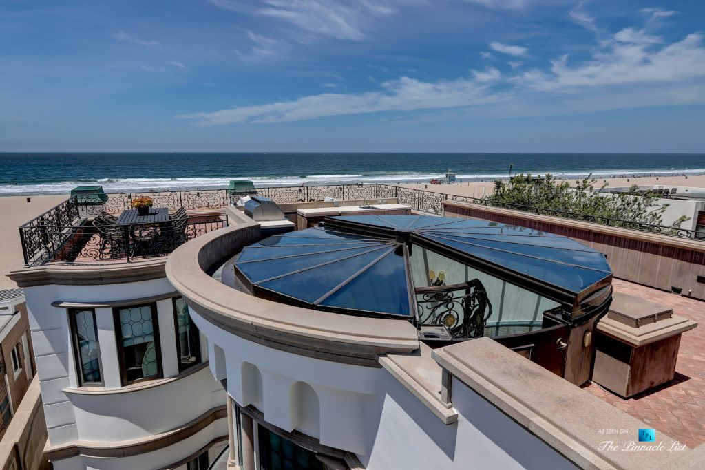 2806 The Strand, Hermosa Beach, CA, USA - Rooftop Deck Access Stairs - Luxury Real Estate - Oceanfront Home