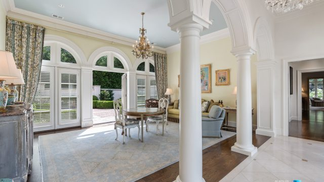 439 Blackland Rd NW, Atlanta, GA, USA - Sitting Room - Luxury Real Estate - Tuxedo Park Mediterranean Mansion Home