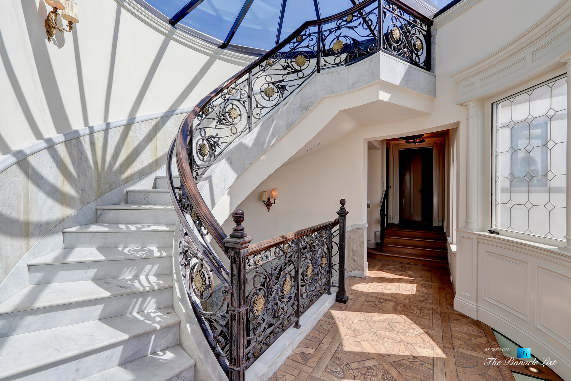 2806 The Strand, Hermosa Beach, CA, USA - Stairs to Rooftop Deck - Luxury Real Estate - Oceanfront Home