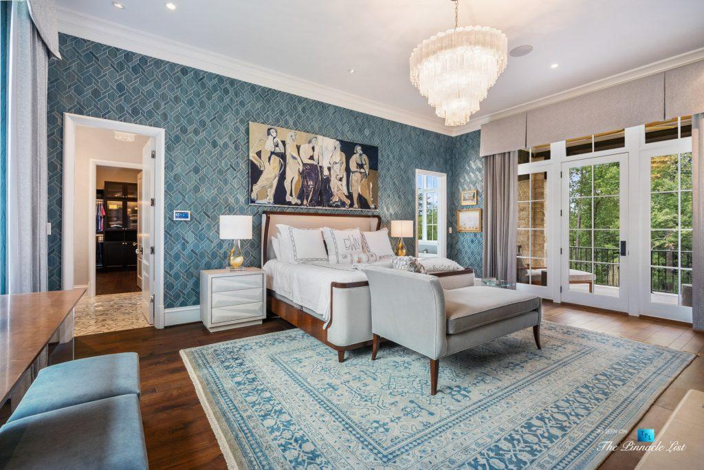 1150 W Garmon Rd, Atlanta, GA, USA - Master Bedroom - Luxury Real Estate - Buckhead Estate Home