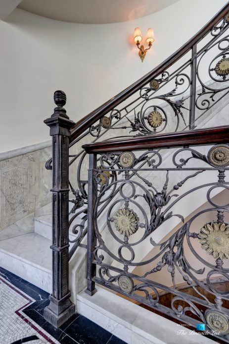 2806 The Strand, Hermosa Beach, CA, USA - Ornate Stair Railing - Luxury Real Estate - Oceanfront Home