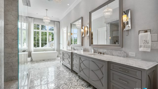 1150 W Garmon Rd, Atlanta, GA, USA - Master Bathroom - Luxury Real Estate - Buckhead Estate Home