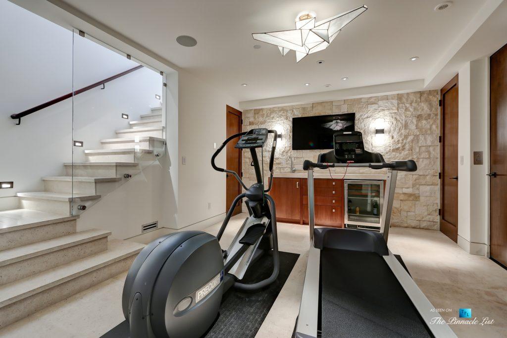 205 20th Street, Manhattan Beach, CA, USA - Gym Room - Luxury Real Estate - Ocean View Home