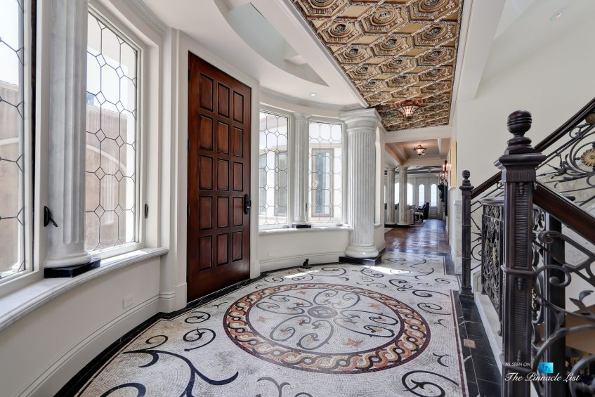 2806 The Strand, Hermosa Beach, CA, USA - Ornate Mid Floor Foyer - Luxury Real Estate - Oceanfront Home