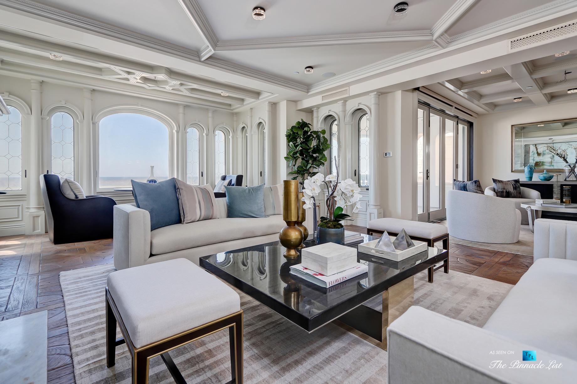 Luxury Real Estate - 2806 The Strand, Hermosa Beach, CA, USA - Living Room