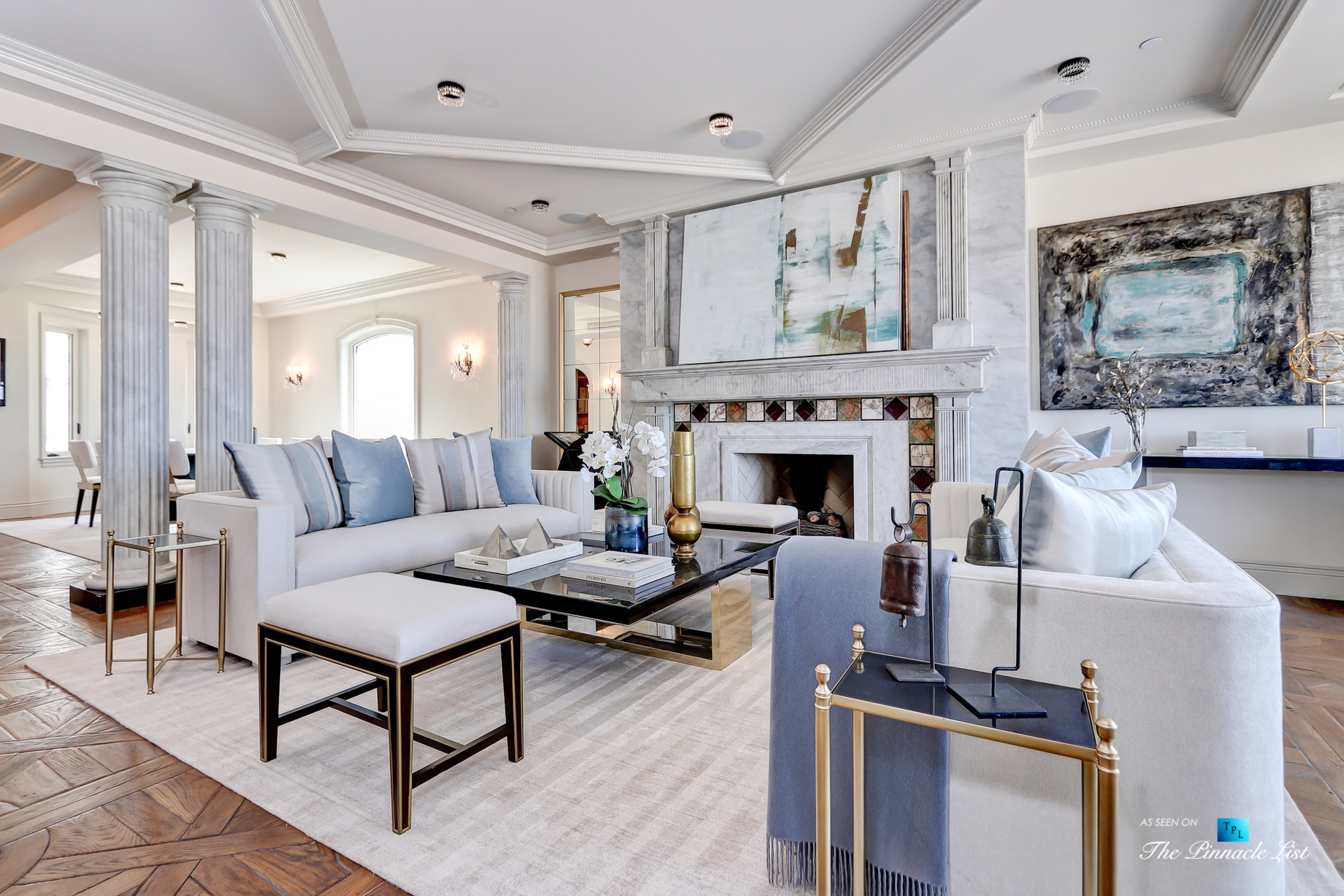 2806 The Strand, Hermosa Beach, CA, USA – Living Room – Luxury Real Estate – Oceanfront Home