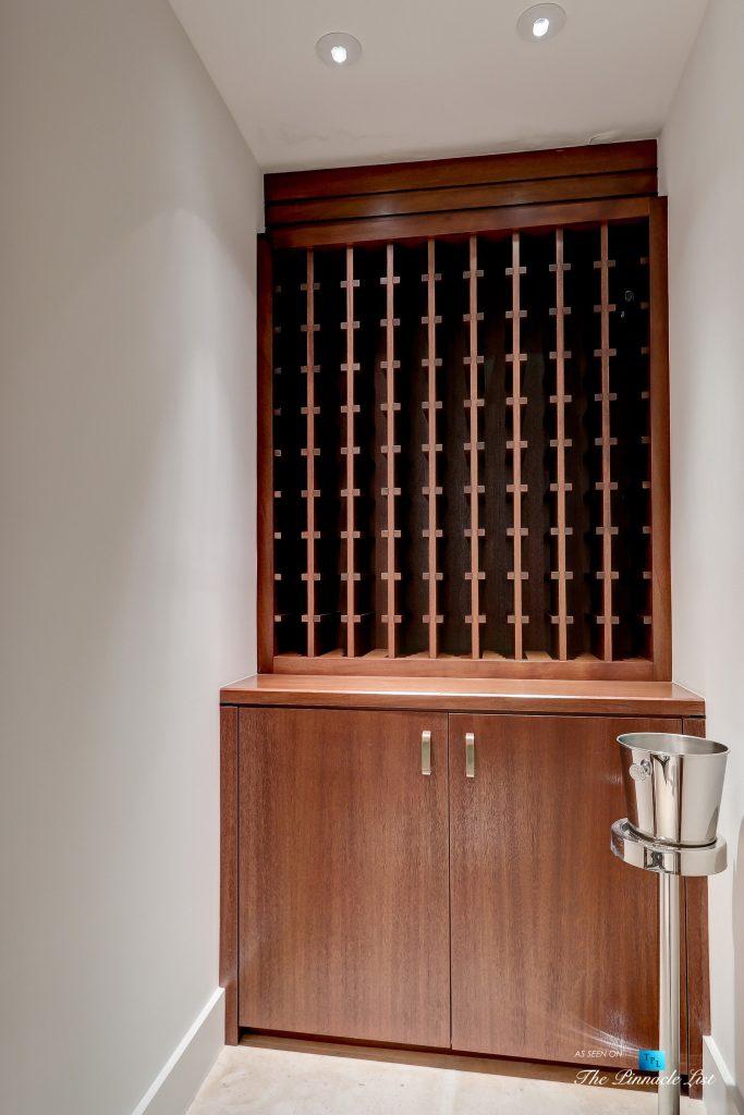 205 20th Street, Manhattan Beach, CA, USA - Wine Room - Luxury Real Estate - Ocean View Home