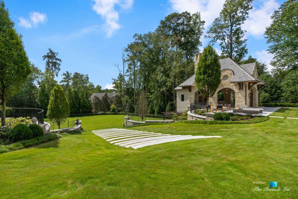 1150 W Garmon Rd, Atlanta, GA, USA - Backyard Grounds - Luxury Real Estate - Buckhead Estate Home