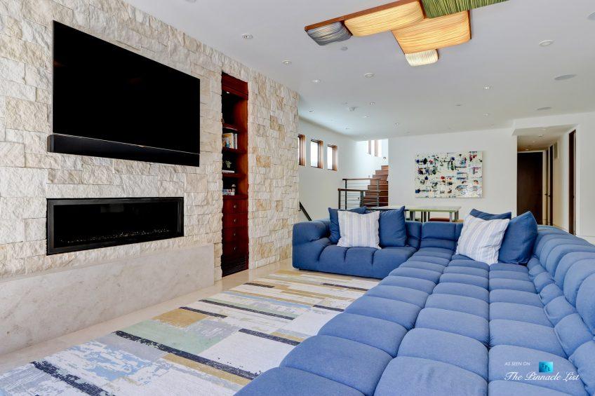 205 20th Street, Manhattan Beach, CA, USA - Beach Room Fireplace - Luxury Real Estate - Ocean View Home