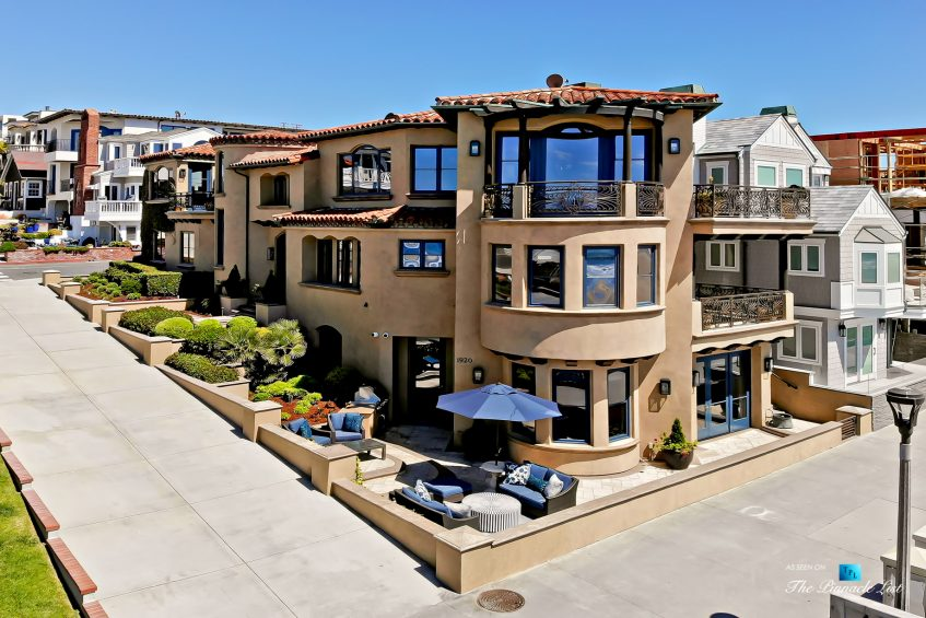Luxury Real Estate - 1920 The Strand, Manhattan Beach, CA, USA - Front Above