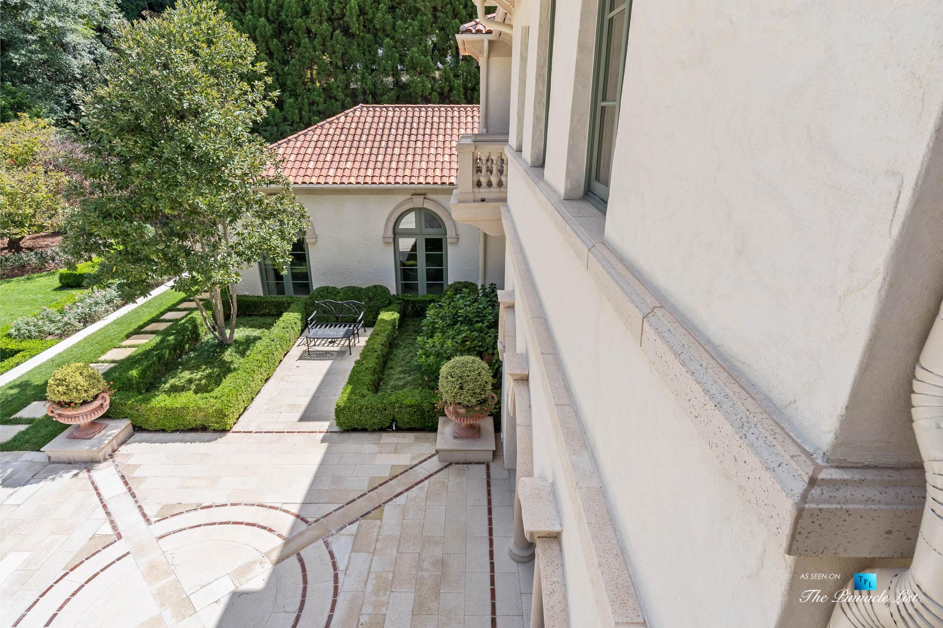 439 Blackland Rd NW, Atlanta, GA, USA – Private Backyard Deck – Luxury Real Estate – Tuxedo Park Mediterranean Mansion Home