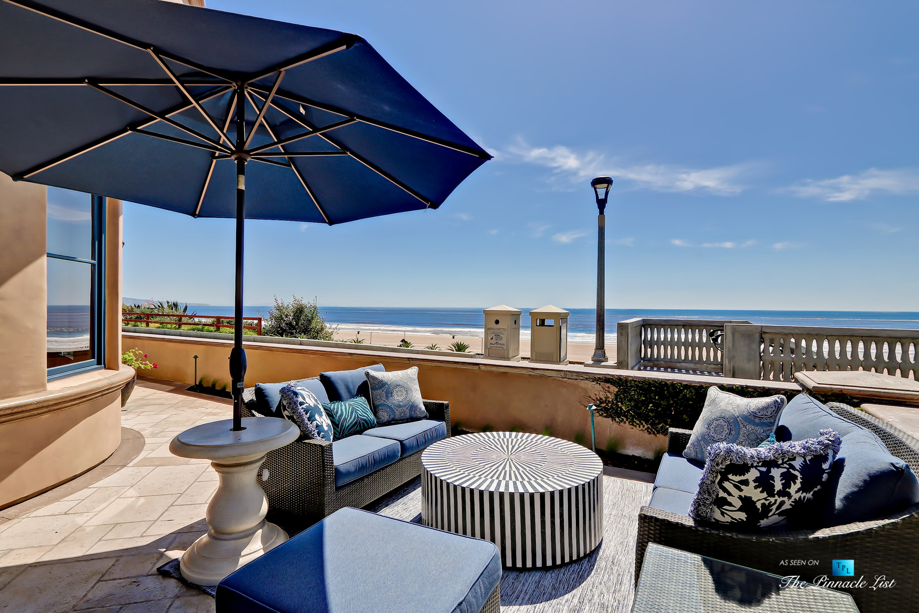 Luxury Real Estate - 1920 The Strand, Manhattan Beach, CA, USA - Front Patio Ocean View