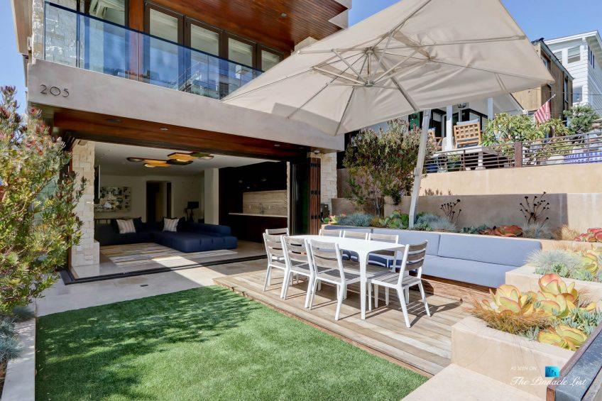 205 20th Street, Manhattan Beach, CA, USA - Outdoor Patio - Luxury Real Estate - Ocean View Home