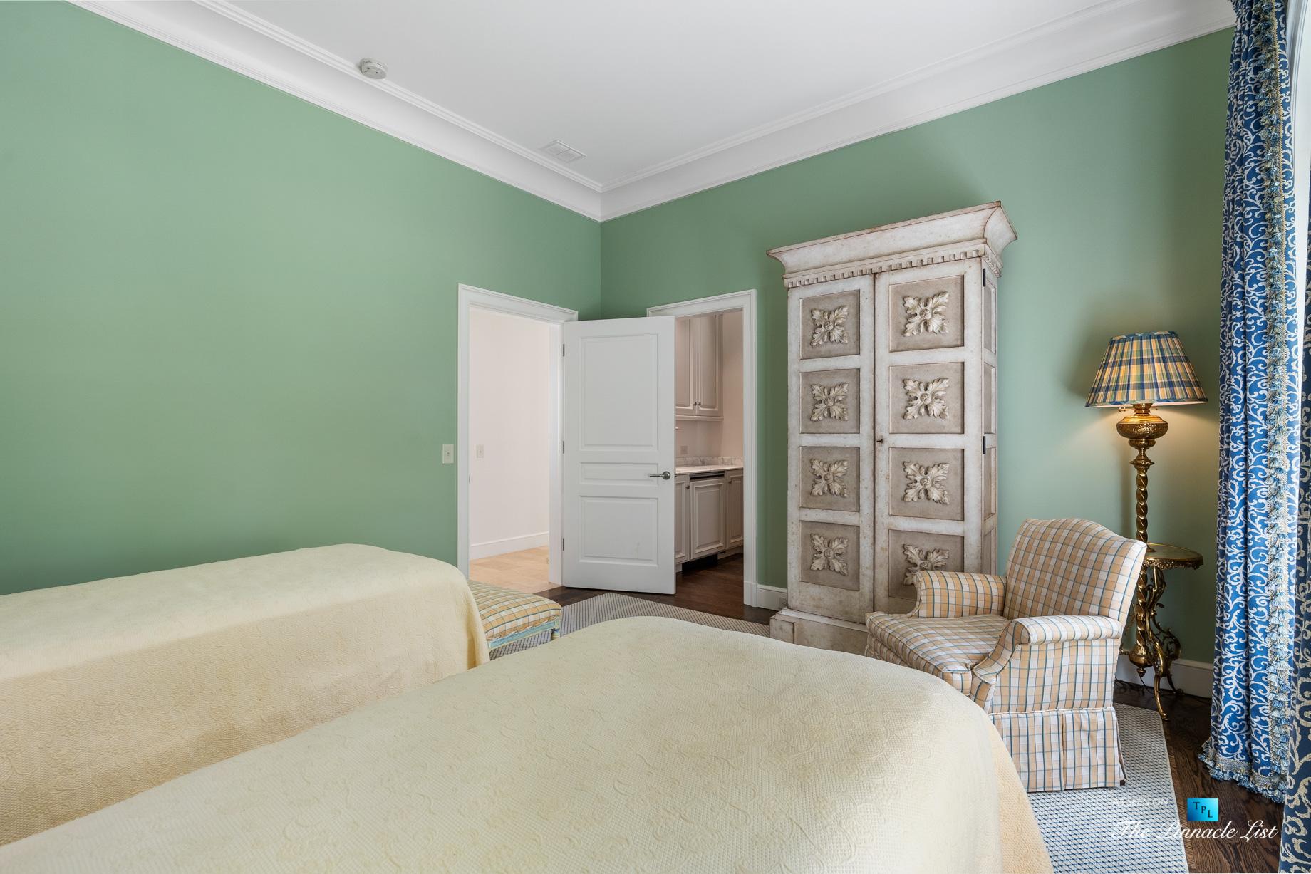 439 Blackland Rd NW, Atlanta, GA, USA – Bedroom – Luxury Real Estate – Tuxedo Park Mediterranean Mansion Home