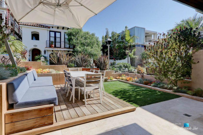 205 20th Street, Manhattan Beach, CA, USA - Patio and Yard - Luxury Real Estate - Ocean View Home