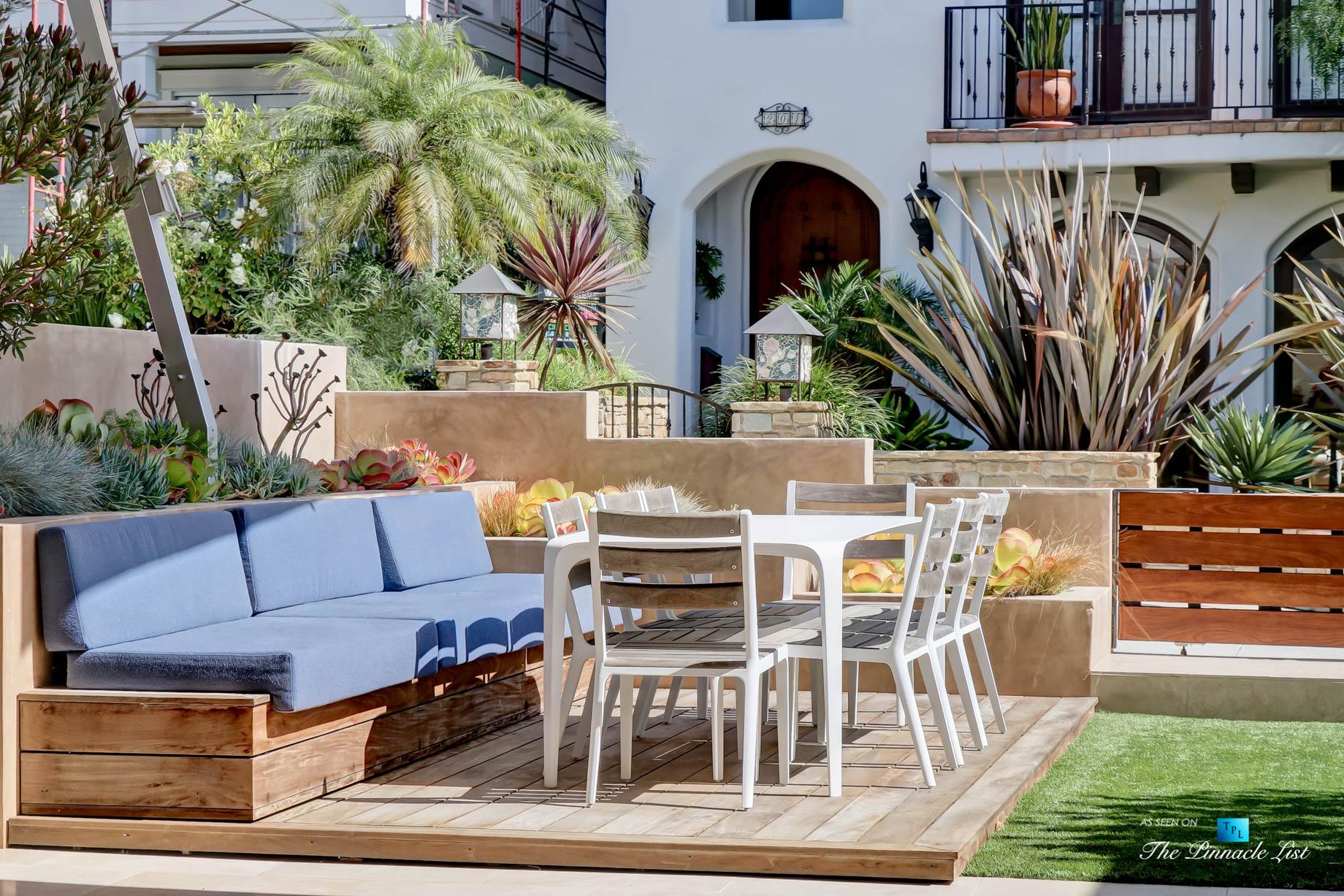 205 20th Street, Manhattan Beach, CA, USA – Patio – Luxury Real Estate – Ocean View Home