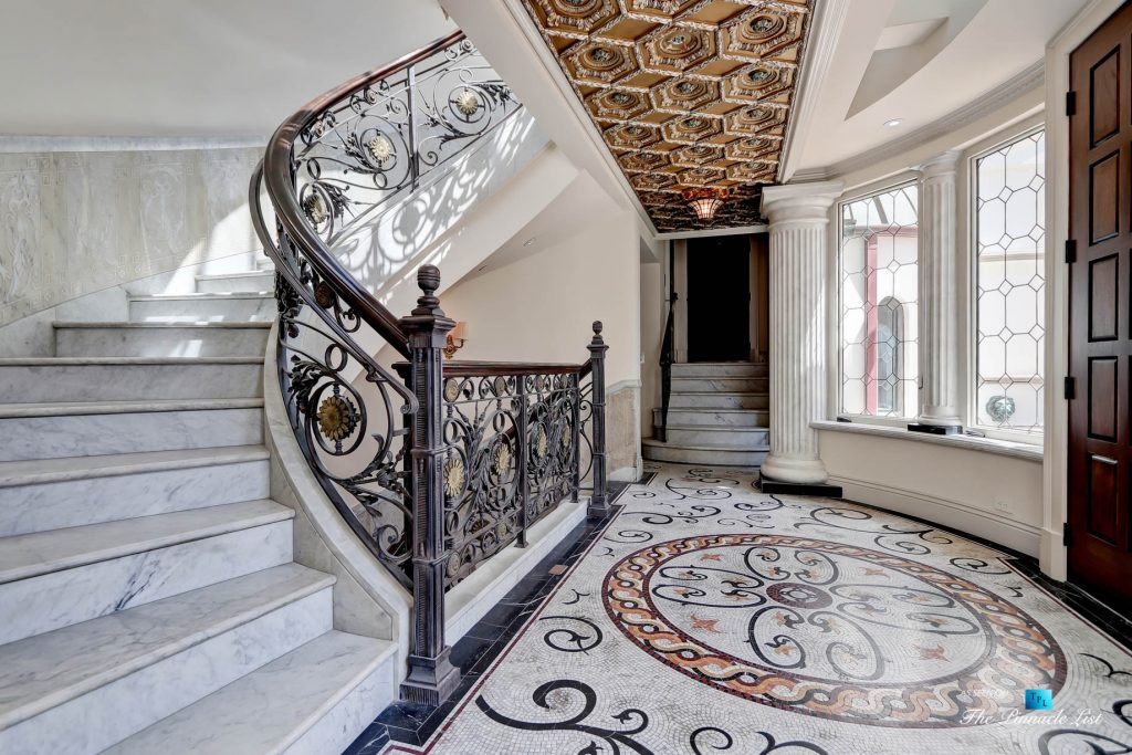 2806 The Strand, Hermosa Beach, CA, USA - Foyer and Stairs - Luxury Real Estate - Oceanfront Home