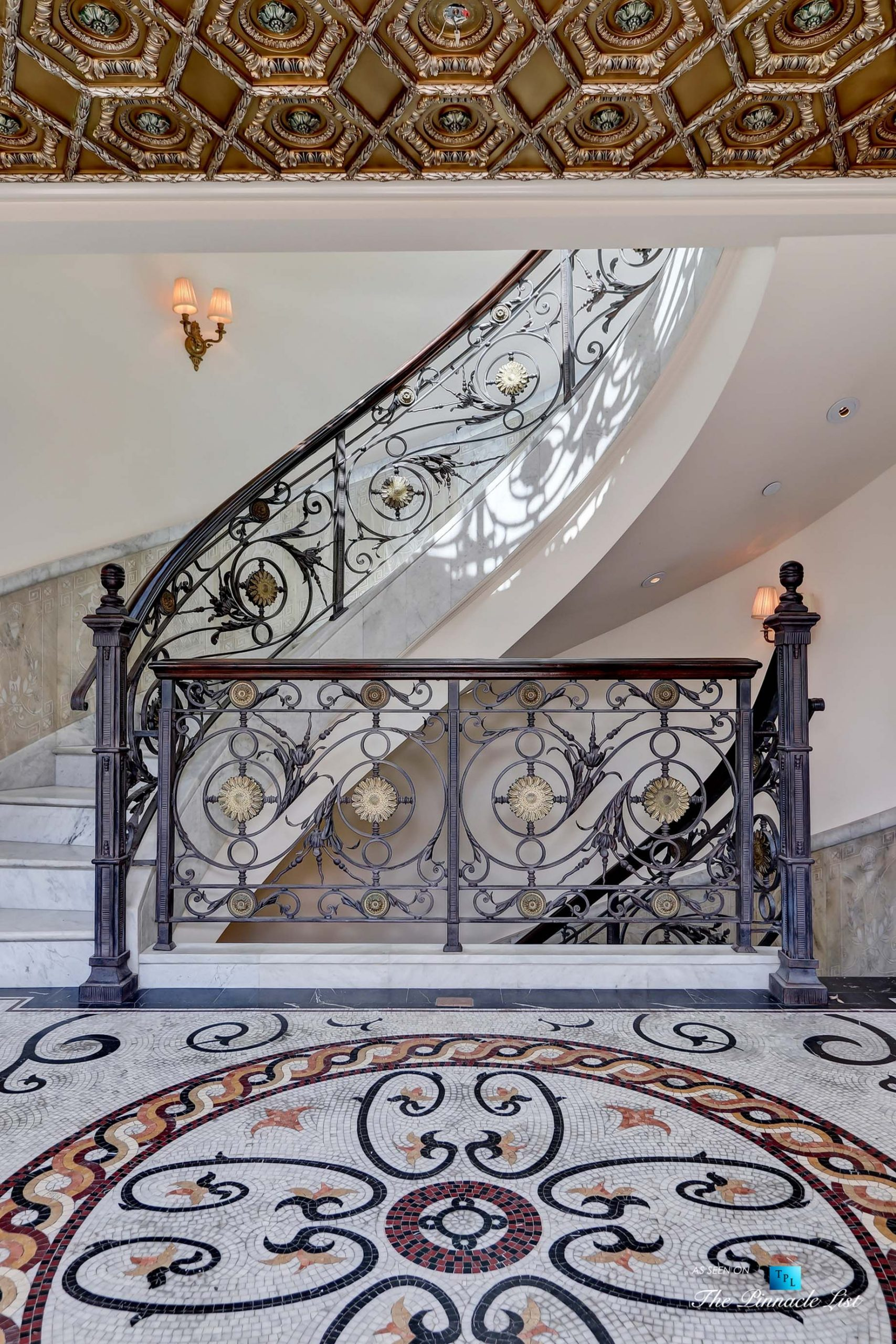 Luxury Real Estate - 2806 The Strand, Hermosa Beach, CA, USA - Stairwell Architectural Detail