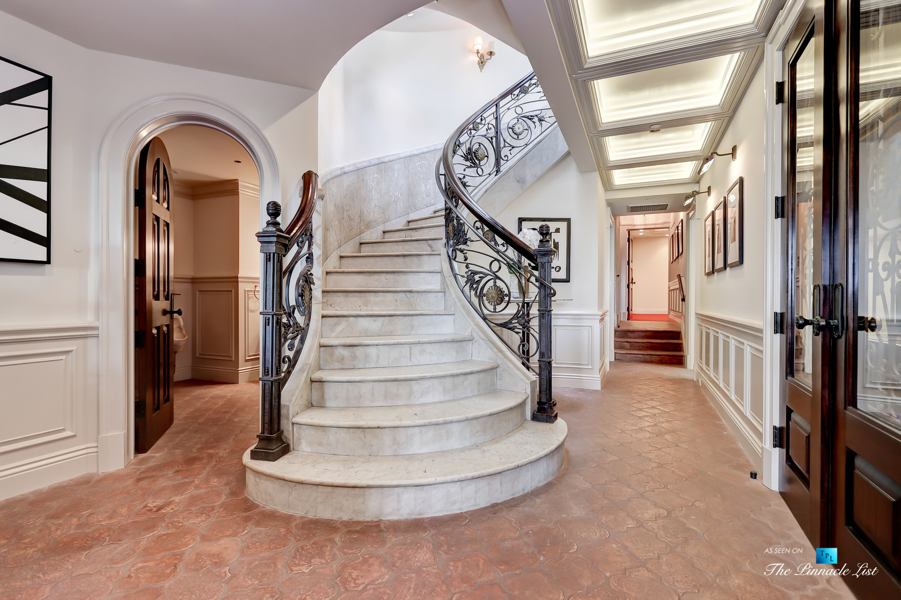 Luxury Real Estate - 2806 The Strand, Hermosa Beach, CA, USA - Stairwell Basement Hall