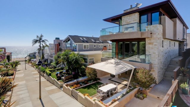 205 20th Street, Manhattan Beach, CA, USA - Front Street Exterior - Luxury Real Estate - Ocean View Home