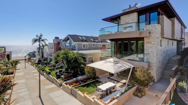 Luxury Real Estate - 205 20th Street, Manhattan Beach, CA, USA - Front Exterior Street Ocean View