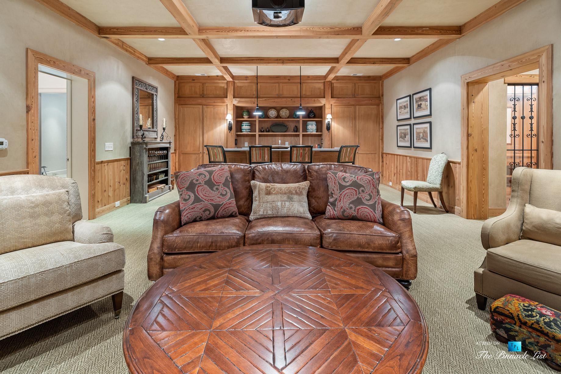 439 Blackland Rd NW, Atlanta, GA, USA – Theatre Room – Luxury Real Estate – Tuxedo Park Mediterranean Mansion Home