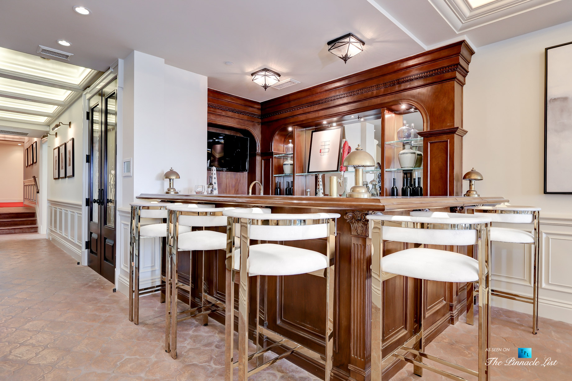 Luxury Real Estate - 2806 The Strand, Hermosa Beach, CA, USA - Gameroom Bar