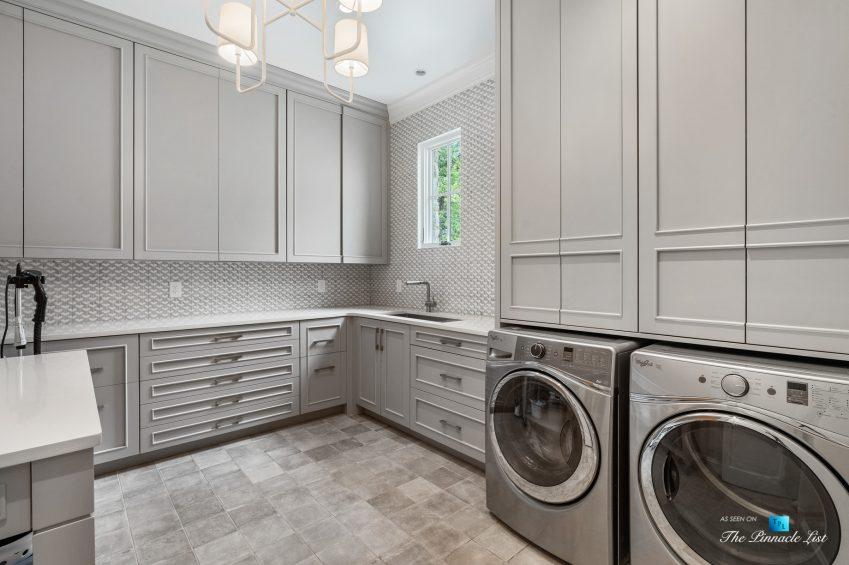 1150 W Garmon Rd, Atlanta, GA, USA - Laundry Room - Luxury Real Estate - Buckhead Estate Home
