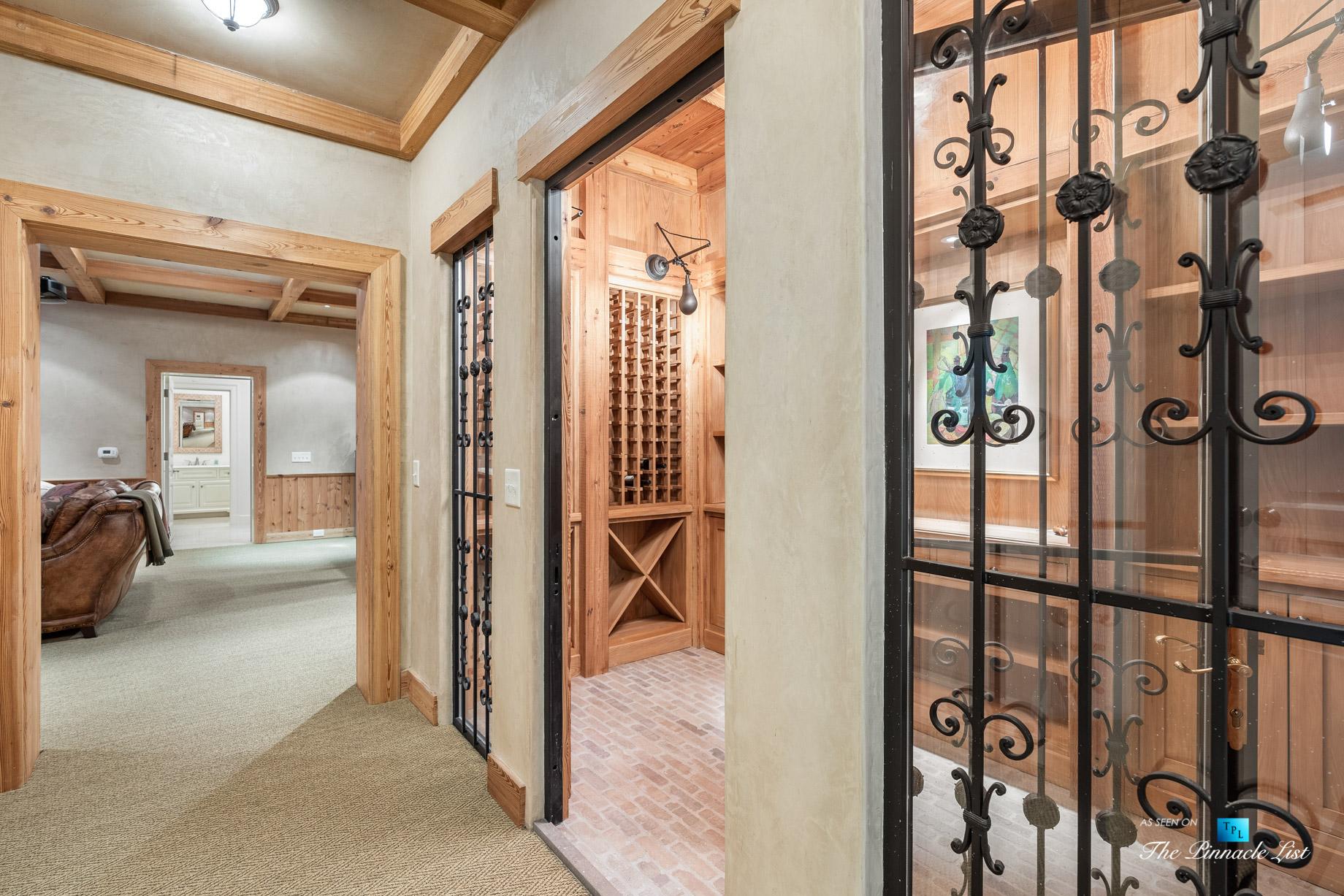 439 Blackland Rd NW, Atlanta, GA, USA - Wine Room - Luxury Real Estate - Tuxedo Park Mediterranean Mansion Home